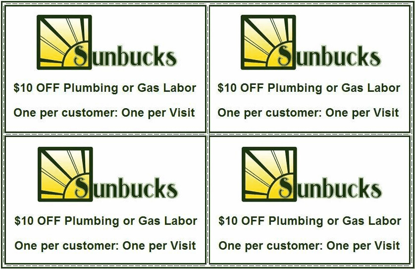 picture relating to Printable Gas Coupons named Print Solar Plumbing and Fuel Coupon codes