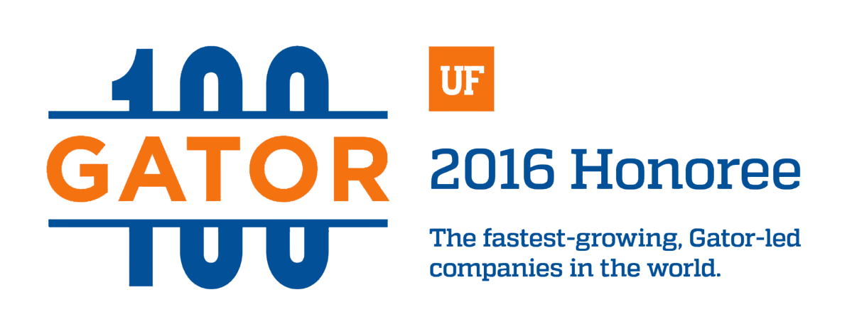 Gator 100: 2016 Honoree | The fastest-growing, Gator-led companies in the world